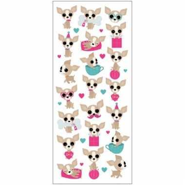 Vergelijk kinder chihuahua honden stickers prijs