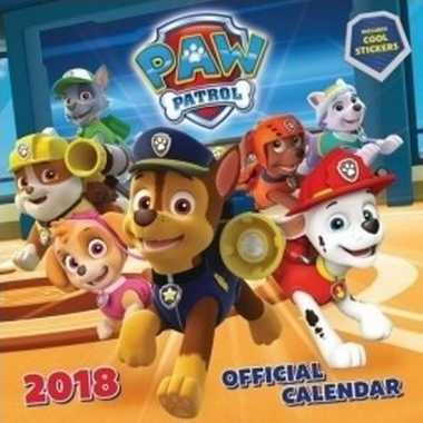 Vergelijk kinder kalender paw patrol 2018 prijs