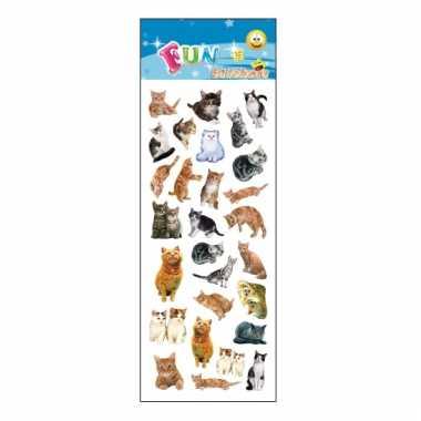 Vergelijk kinder katten stickers prijs