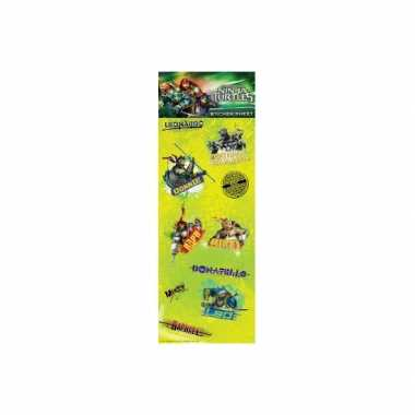 Kinder stickers teenage ninja turtles prijs