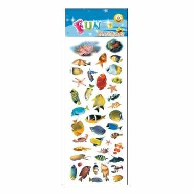 Vergelijk kinder tropische vissen stickers prijs 10068484