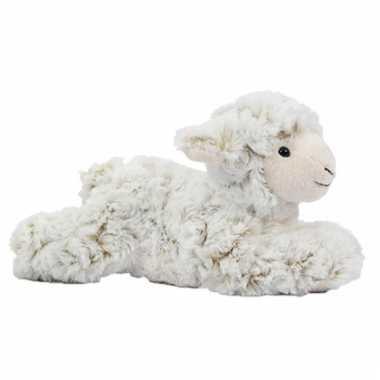 Vergelijk knuffel schaap lam liggend 22 cm prijs