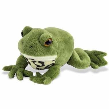 Knuffeldier groene kikker 18 cm prijs