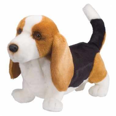 Knuffeldier hond basset hond 41 cm prijs