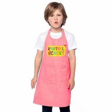 Knutselschort roze jongens en meisjes prijs