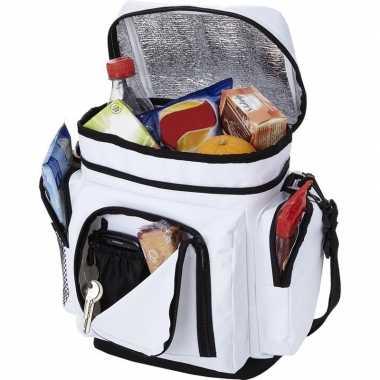 Koelbox/koeltas wit voor blikjes/lunch prijs