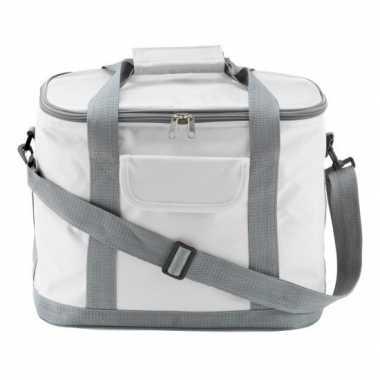 Koelbox/koeltas xl wit/grijs 26 liter prijs