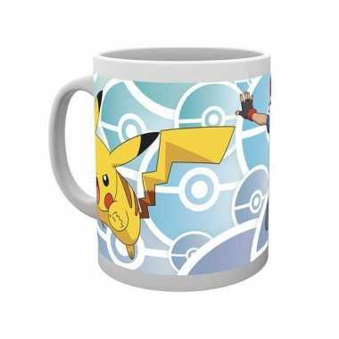 Vergelijk koffiemok pokemon ash en pikachu prijs