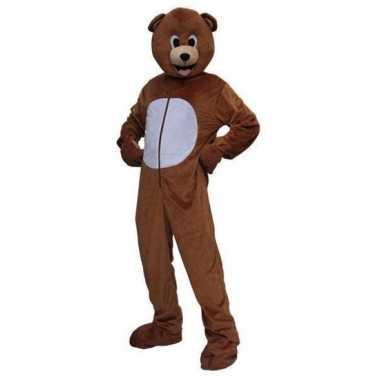 Vergelijk kostuum bruine beer volwassenen prijs