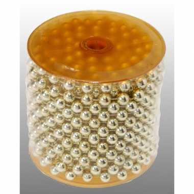 Kralenslinger goud 1000 cm prijs