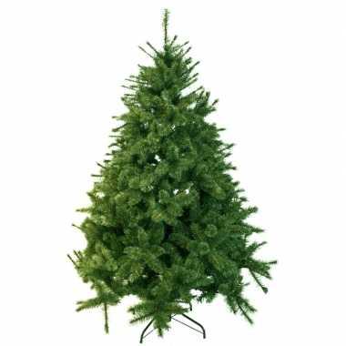 Kunst kerstboom 185 cm dennengroen op stalen voet prijs