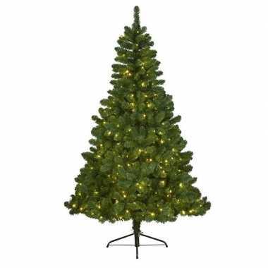 Kunstkerstboom met verlichting 180 cm imperial pine groen prijs