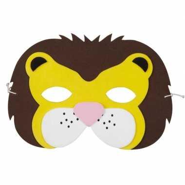 Leeuwen foam masker voor kinderen prijs