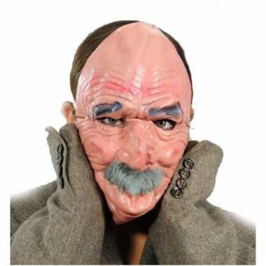 Luxe opa masker van latex prijs