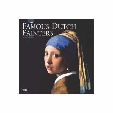 Maandkalender famous dutch painters 2019 prijs