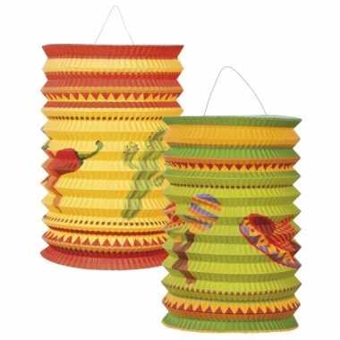 Mexicaanse lampionnetjes 2 stuks prijs