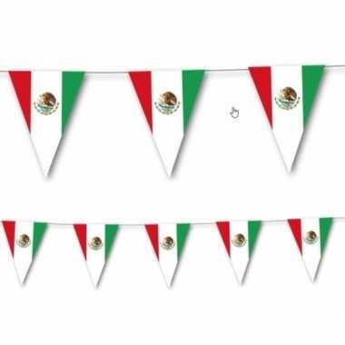 Mexicaanse vlaggenlijn 3,5 meter prijs