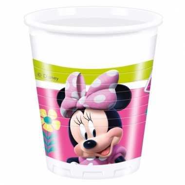 Vergelijk minnie mouse feestbekertjes 8 stuks prijs