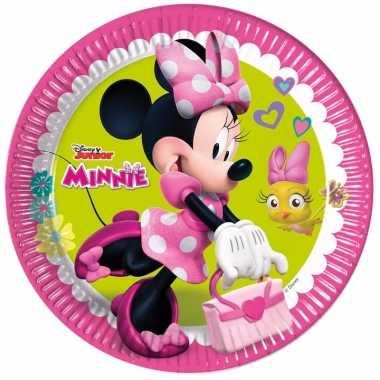 Vergelijk minnie mouse gebaksbordjes 8 stuks prijs