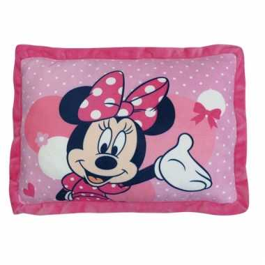 Vergelijk minnie mouse kussentje 43 cm prijs