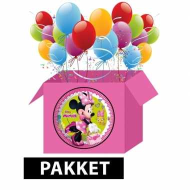 Minnie mouse party pakket prijs