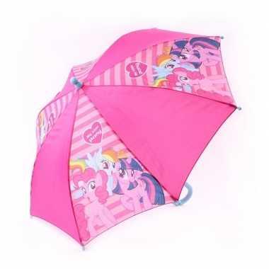 My little pony kinderparaplu roze 45 cm voor kinderen prijs