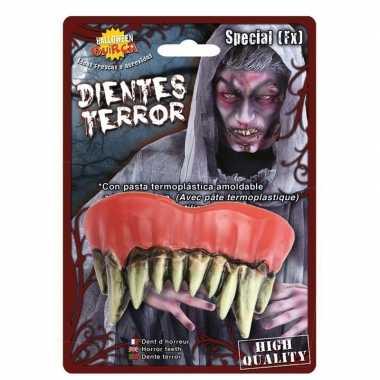 Nep gebit met lange scherpe monster tanden prijs