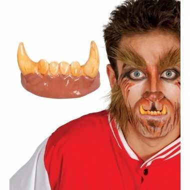 Nep gebit met weerwolf tanden prijs
