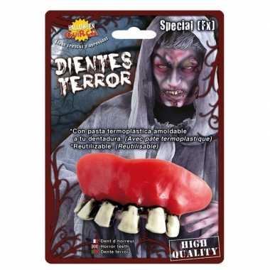 Nep gebit met zombie tanden prijs