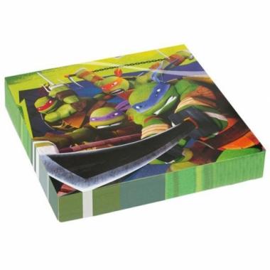 Vergelijk ninja turtles thema servetten prijs