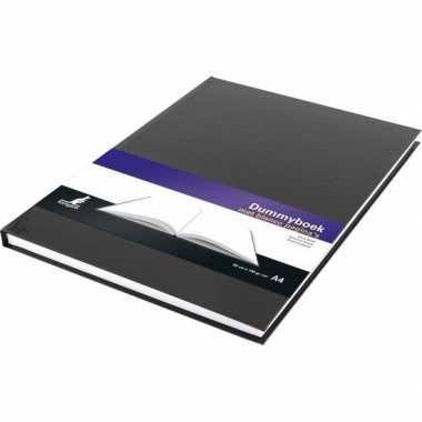 Notitieboek zwart met harde kaft en blanco papier a4 formaat prijs