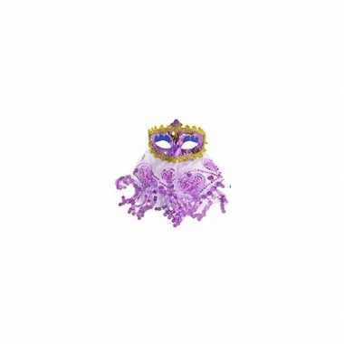 Oosters oogmasker paars prijs