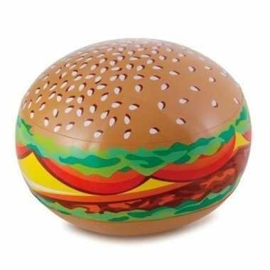 Opblaadbare hamburger 61 cm waterspeelgoed prijs