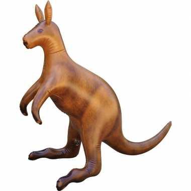 Opblaas kangoeroe dieren 75 cm realistische print prijs