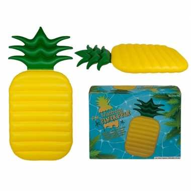 Opblaasbaar matras ananas 165 cm prijs