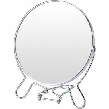 Opmaak/grimeer spiegel dubbelzijdig 12,5 cm prijs