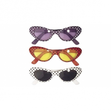 Ovale fifties partybril prijs