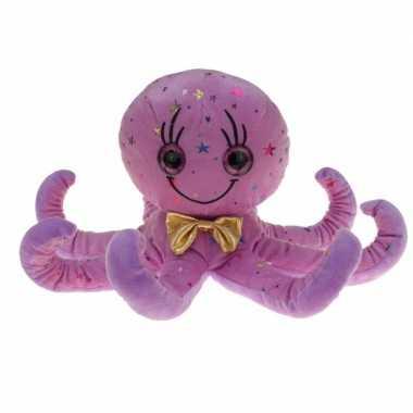 Paarse octopus pluche knuffels 40 cm prijs