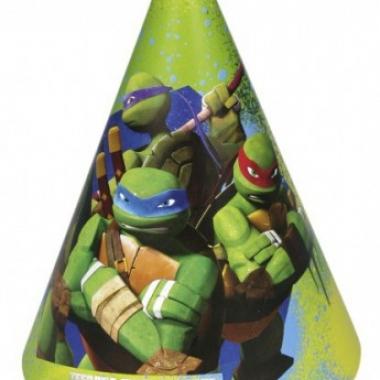 Vergelijk papieren turtles hoedjes 6 stuks prijs