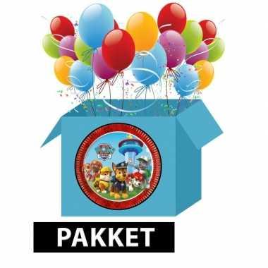 Vergelijk paw patrol versieringspakket voor kinderfeestjes prijs 10102774