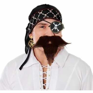 Piraten hoofd accessoires voor heren prijs