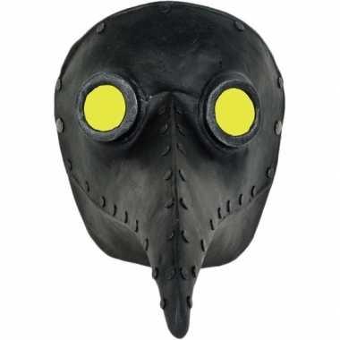 Plaagdokter/plaagmeester zwart snavel masker voor volwassenen prijs
