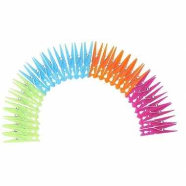 Plastic wasknijpers 120 stuks prijs