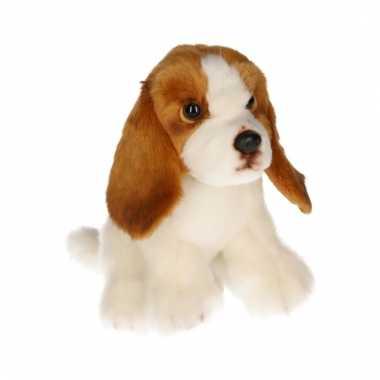 Pluche basset hond 16 cm prijs