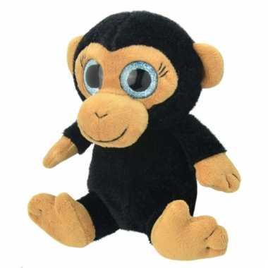 Vergelijk pluche chimpansee aap knuffeldier 18 cm prijs