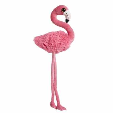 Pluche dierenknuffel flamingo roze 65 cm prijs