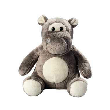 Pluche dierenknuffel nijlpaard 12.5 cm prijs