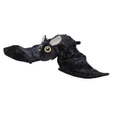 Pluche dierenknuffel vleermuis zwart 55 cm prijs
