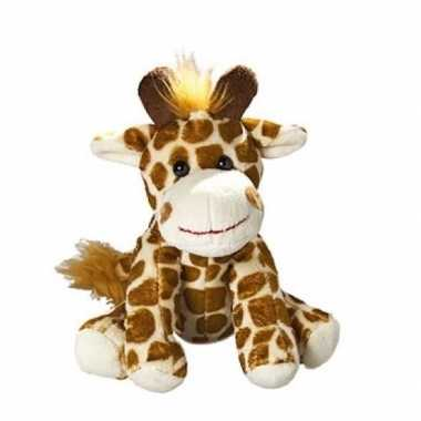 Pluche giraf knuffel 18.5 cm prijs