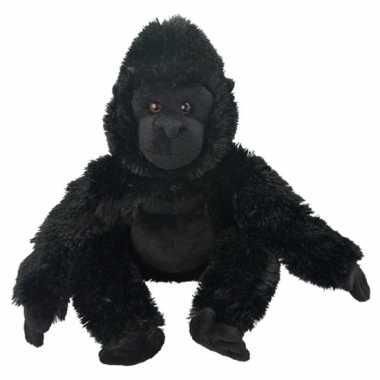 Vergelijk pluche gorilla apen knuffeldier 33 cm prijs